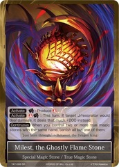 Milest, the Ghostly Flame Stone - TAT-099 - SR - 2nd Printing
