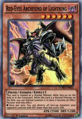 Red-Eyes Archfiend of Lightning - CORE-EN023 - Super Rare - 1st Edition