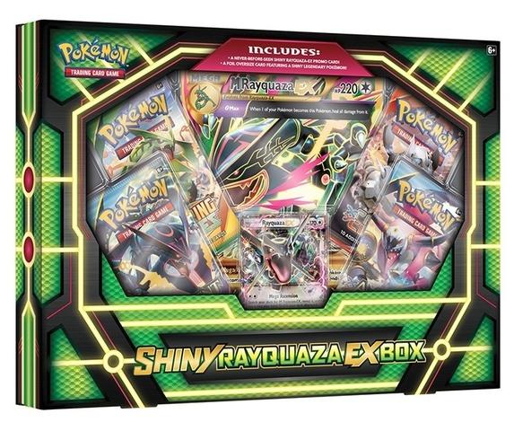 Shiny Rayquaza-EX Box