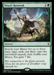 Nissa's Renewal on Channel Fireball
