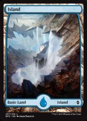 Island (257) - Foil (Full Art)