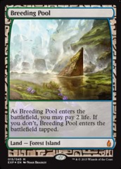 Breeding Pool - Foil (Zendikar Expedition: Battle for Zendikar Lands)