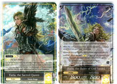 Faria, the Sacred Queen // Faria, the Ruler of God Sword - SKL-007 // SKL-007J - R - 1st Edition