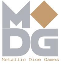 35mm Mega Metal D20 - Antique Silver