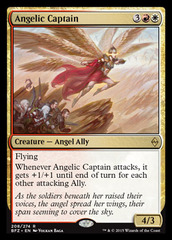 Angelic Captain on Channel Fireball