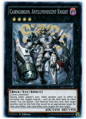 Cairngorgon, Antiluminescent Knight - MP15-EN030 - Super Rare - 1st Edition
