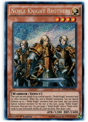 Noble Knight Brothers - MP15-EN046 - Secret Rare - 1st Edition