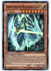 Swordsman of Revealing Light - MP15-EN245 - Ultra Rare - 1st Edition