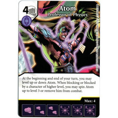 Atom - Professor of Physics (Die & Card Combo)