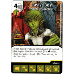 Beast Boy - Animal Magnetism (Die & Card Combo)