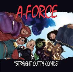 A-Force #1 Hughes Hip Hop Variant Comic Book Marvel