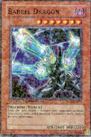 Barrel Dragon - DT02-EN005 - Super Parallel Rare - Duel Terminal