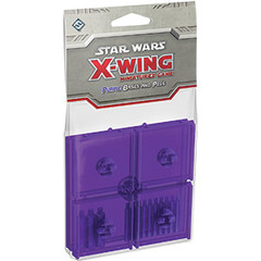 Star Wars: X-Wing Miniatures Game - Purple Bases and Pegs