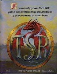 1993 TSR Master Catalog 9912