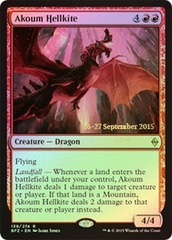 Akoum Hellkite (Battle for Zendikar Prerelease Foil) on Channel Fireball