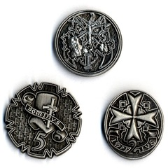 GameMastery Campaign Coins: Silver (1, 2, 5)