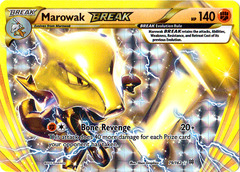 Marowak-BREAK - 79/162 - Rare BREAK