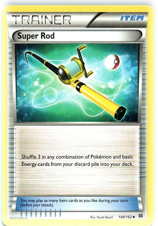 Super Rod - 149/162 - Uncommon
