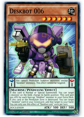 Deskbot 006 - DOCS-EN039 - Common - 1st Edition on Channel Fireball