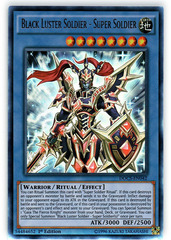 Black Luster Soldier - Super Soldier - DOCS-EN042 - Ultra Rare - 1st Edition