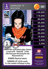 Android 17, Beckoning - Foil