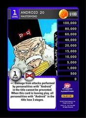 Android 20 - Mastermind - Foil