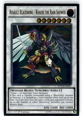 Assault Blackwing - Raikiri the Rain Shower - DOCS-EN047 - Ultimate Rare - 1st Edition on Channel Fireball