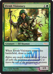 Elvish Visionary - (FNM Foil 2010)