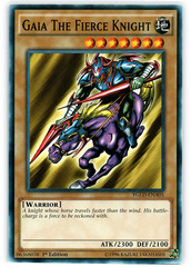 Gaia The Fierce Knight - YGLD-ENA05 - Common - 1st Edition