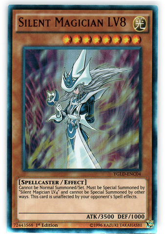 Silent Magician Lv8 Ygld Enc04 Ultra Rare 1st