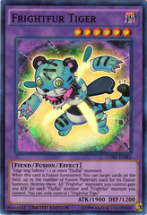 Frightfur Tiger - CORE-ENSE2 - Super Rare - Limited Edition