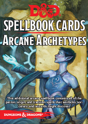 Dungeons and Dragons 5th Edition RPG: Spellbook Cards - Arcane Archetypes