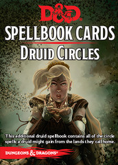Spellbook Cards  Druid Circles D&D 5E