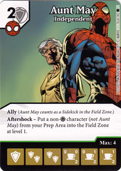 Aunt May - Independent (Card Only)