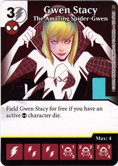 Gwen Stacy - The Amazing Spider-Gwen (Die & Card Combo)