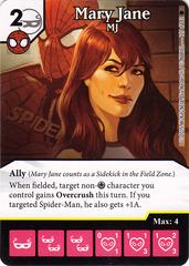Mary Jane - MJ (Die & Card Combo)