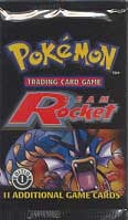 Team Rocket 1st Edition Booster Pack