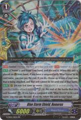 Blue Storm Shield, Homerus - G-CB02/011EN - RR on Channel Fireball