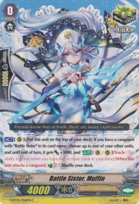 Battle Sister, Muffin - G-BT05/056EN - C