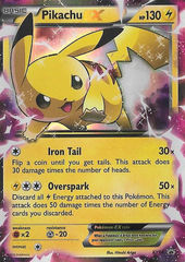 Pikachu-EX - XY84 - Pikachu-EX Legendary Collection Promo