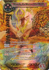 Phoenix, the Flame of the World - TTW-031 - SR - 1st Edition - Full Art