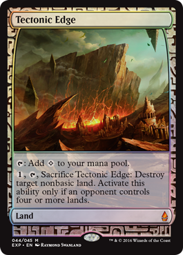 Tectonic Edge Expedition - Foil