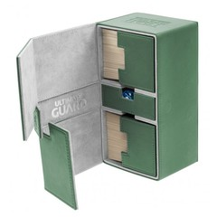 Ultimate Guard Flip Deck Case TWIN FLIP'n'TRAY Xenoskin 200+ - Green