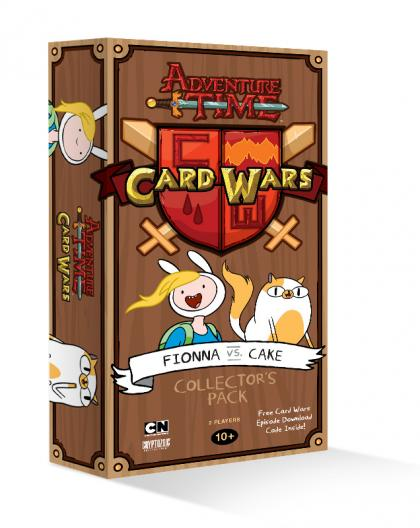 ADVENTURE TIME CARD WARS COLLECTORS PACK: FIONNA VS. CAKE