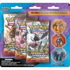 XY - Breakthrough Mega Evolution 3 Pin Blister
