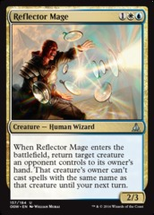 Reflector Mage on Channel Fireball