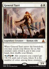 General Tazri - Foil on Channel Fireball