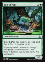 Baloth Pup - Foil on Channel Fireball
