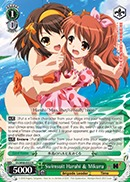 Swimsuit Haruhi & Mikuru - SY/W08-E032 - R