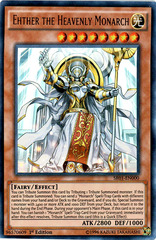 Ehther the Heavenly Monarch - SR01-EN000 - Ultra Rare - 1st Edition